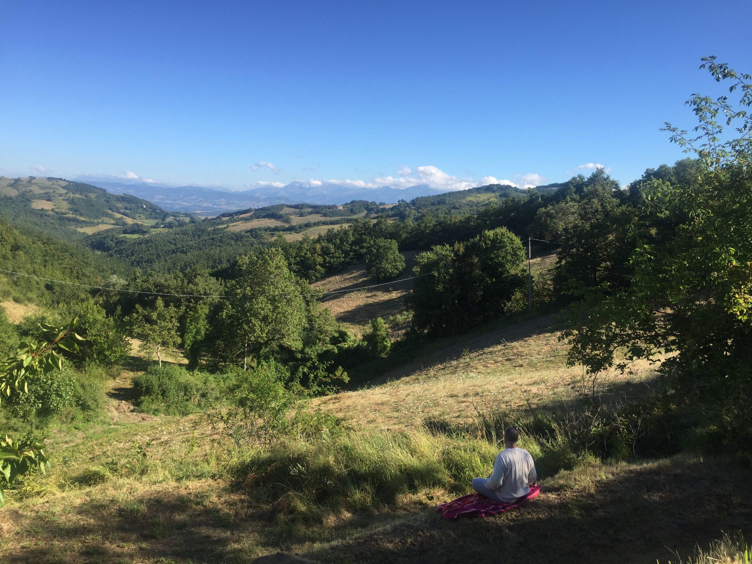 meditazione a Ananda, Assisi